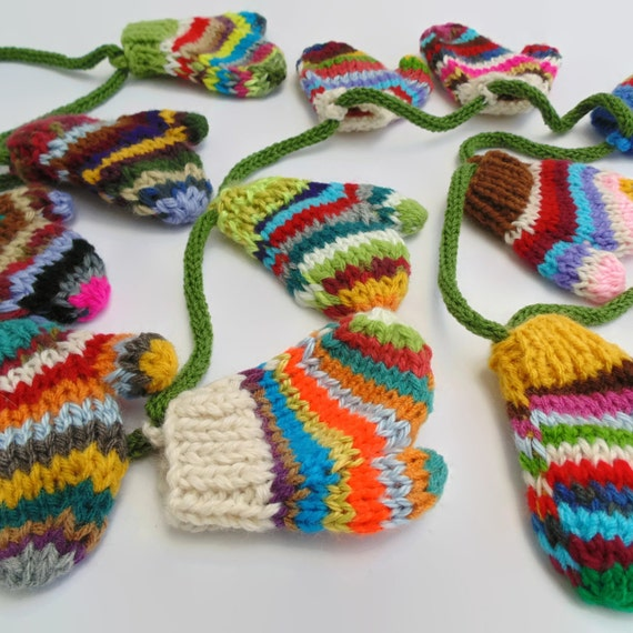 Christmas Garland Christmas Decoration Knit Decoration 12