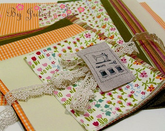 Vintage Fabric Pack Japan Cotton Linen Gingham Floral Flower Print Strips Solid Color Lace Zakka Mix Precut Bundle Scraps Grab Bag Assorted