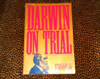 Charles Darwin Vintage 1993 Paperback Darwin On Trial by Philip E. Johnson Controversial Charles Darwin Book FREE Shipping