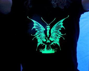 Green Fairy unisex glow in the dark T-shirt