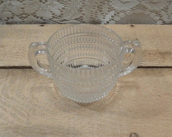 Hazel Atlas sugar bowl beehive pattern