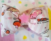 Kirimi chan puffy bow, Sanrio accessories sweet lolita fairy kei