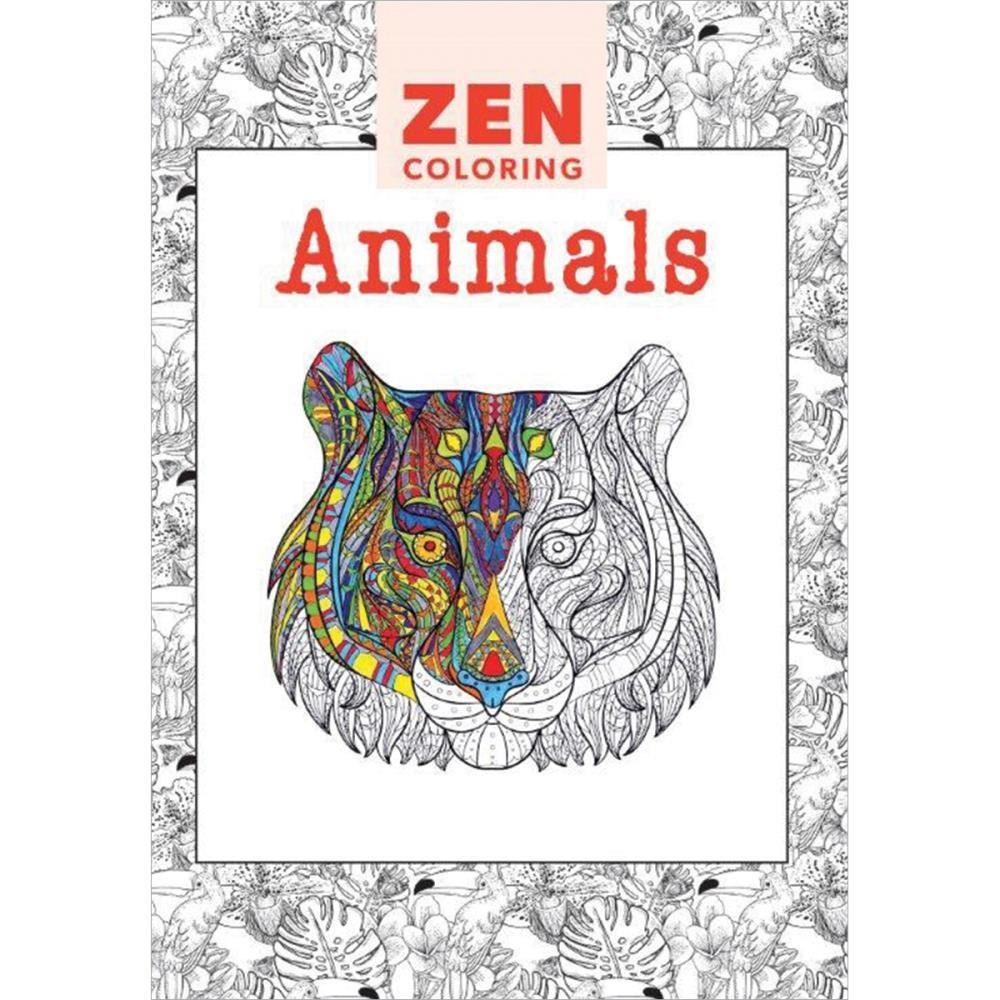 Zen colouring in book - Zen Colouring Book Zoom