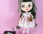 Dress or Helmet or Both for Blythe and other similar sized dolls.