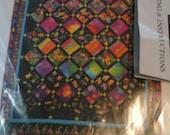 Rainbow Jungle Quilt Kit - NEW