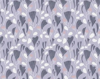 Dreamscape-In Dreams-Lavender-Dear Stella-Designer Cotton-Fabric-Sewing-Apparel Fabric-Half Yard or Full Yard Cut-Floral Cotton-Horses.