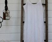 White Linen Slip