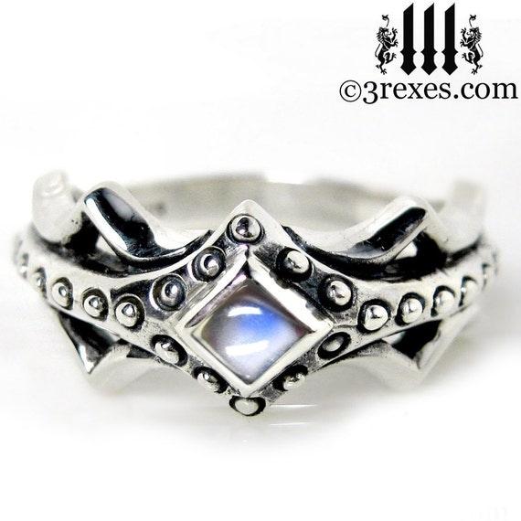 Fairy Princess Engagement Ring Moonstone Size 6