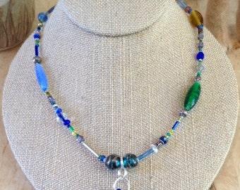 Sea Glass Necklace - Real Sea Glass - Sea Glass Jewelry - Gift Idea - Mother's Day Gift Idea - Mother's Day - Mother - Mom