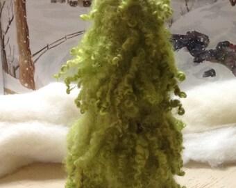 Felted wool tree