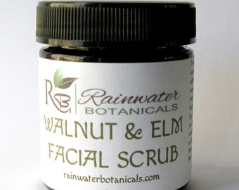Walnut and Elm Facial Scrub and Mask 3oz