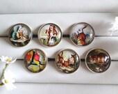 Alice's Adventures in Wonderland Adjustable Rings - Choose from 6 Designs