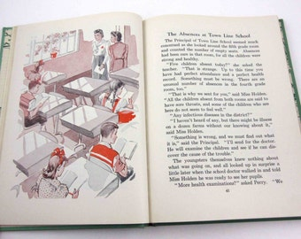 Hale and Hearty Vintage 1940s Children's School Reader or Health Textbook by American Book Co.