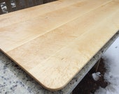 Floating Birdseye Maple Table