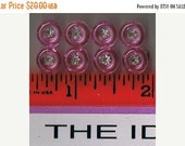 Buttons, Vintage, 1950's Small, Tiny Childs Buttons,  Rhinestone, Sweet, Dainty, Delicate 98d