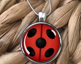 Miraculous Ladybug Pendant Necklace