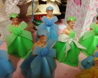 Vintage Plastic Bridesmaids