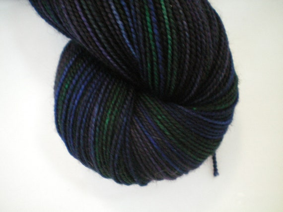 Inspired Feathers - Dyed to Order - Hand Dyed - Merino Wool Yarn - Fingering Weight