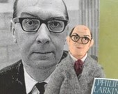 Philip Larkin English Poet Art Character Doll Miniature Collectible