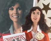 Karen Carpenter Doll Miniature Fan Art Collectible