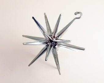 Vintage Christmas Ornament Sputnik Star Mid Century