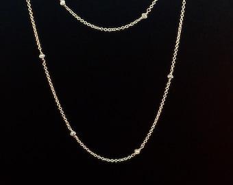 Rough diamond chain