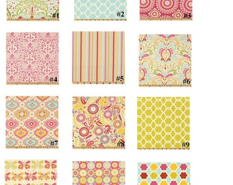 Fabric Selection for Crib Bedding Made From Kumari Garden.... #J..... Not a pre-made item for fabric selection only