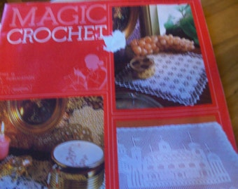 MAGIC CROCHET MAGAZINE  c1983