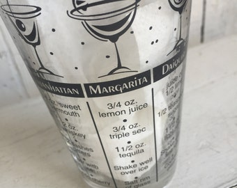 Vintage Cocktail Shaker - Drink Recipes - Mid Century Mad Men Barware