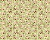 50% OFF Home for the Holidays Deer Green  - 1/2 Yard