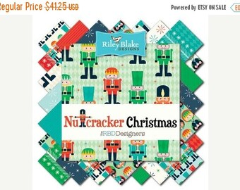 25% OFF Nutcracker Christmas Fat Quarter Bundle