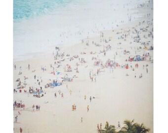 "Brazil Photography Print Polaroid Rio de Janeiro Copacabana Beach Art Matt Schwartz 11""x14"""