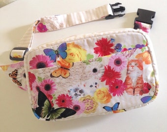 Body Bag / Waist Pouch / Hip Bag --- Candy Party