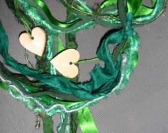 "Handfasting Cord- ""Simply Green"""