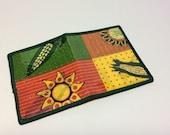 Sweet Maize Fused Plastic Bifold Wallet