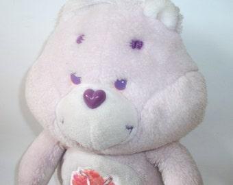 Vintage 1985 Share Care Bear Plush Toy