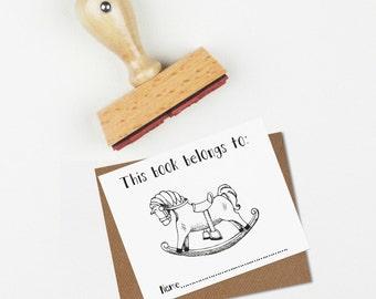Rocking Horse Children's Book Stamp
