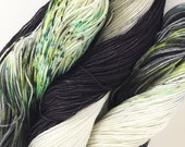 Ready to Ship Hand Dyed Yarn - Severus - Smooth Move