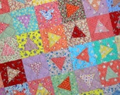 CONFETTI Vintage 1930s Quilt from Quilts by Elena Vintage Fabrics with a Modern Twist