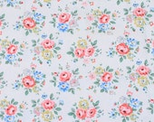 4203 - Cath Kidston Latimer Rose (Offwhite) Cotton Canvas Fabric - 57 Inch (Width) x 1/2 Yard (Length)