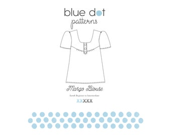 Margo Blouse PDF Pattern