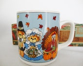 lucy rigg thanksgiving pilgrim mug lucy and me turkey cup