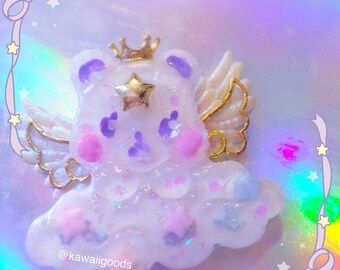 Angelic Royal Bear Brooch
