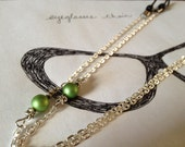 stars eyeglasses chain
