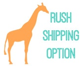 Rush Shipping Ad-On- US only