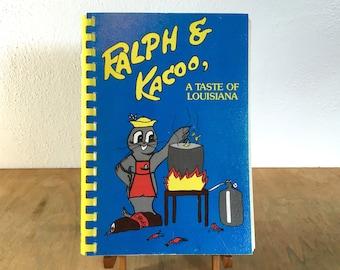 Ralph & Kacoo -  A Taste of Louisiana Cookbook - 1984 First Printing - George Rodrigue