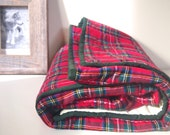Baby Quilt | Baby Boy Bedding | Modern Crib Bedding | Woodland Plaid Baby Blanket