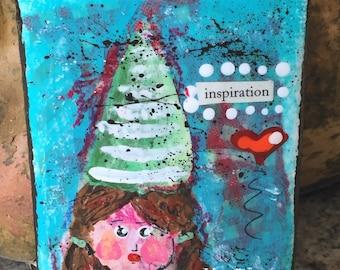 INSPIRATION original 3x4 Painting