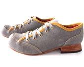Free Shipping! Chop Chop Shoe in Concrete Grey