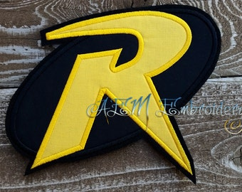 Robin Applique Logo Patch